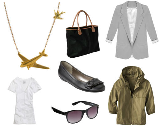 Airplane Necklace Outfit