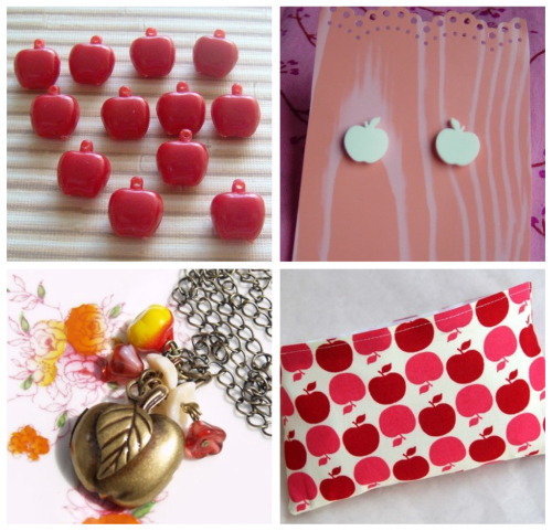 Apple Etsy Collage