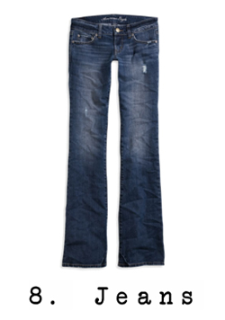 8. Jeans