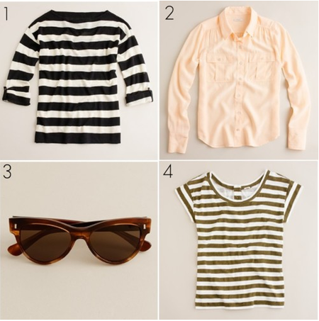 J.Crew Feb pieces